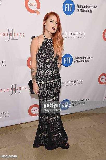 Fashion blogger Luanna PerezGarreaud attends the Fashion Institute Of Technology's 2016 FIT Gala at the Grand Ballroom at The Plaza Hotel on May 9...