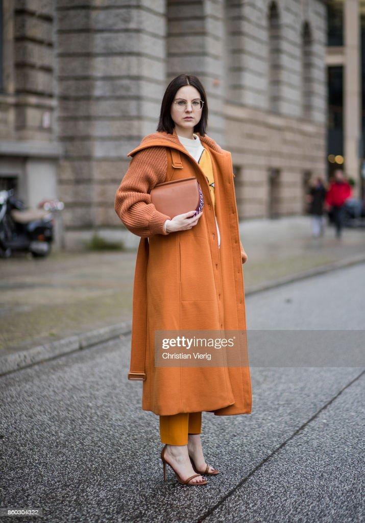 Street Style - Berlin - October 11, 2017
