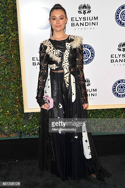 Fashion blogger Marta Pozzan attends Stevie Wonder's HEAVEN 10th Anniversary celebration presented by The Art of Elysium at Red Studios on January 7...