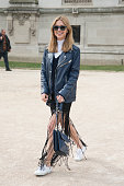Fashion blogger Pernille Teisbaek on day 5 of Paris Collections Women on March 07 2015 in Paris France