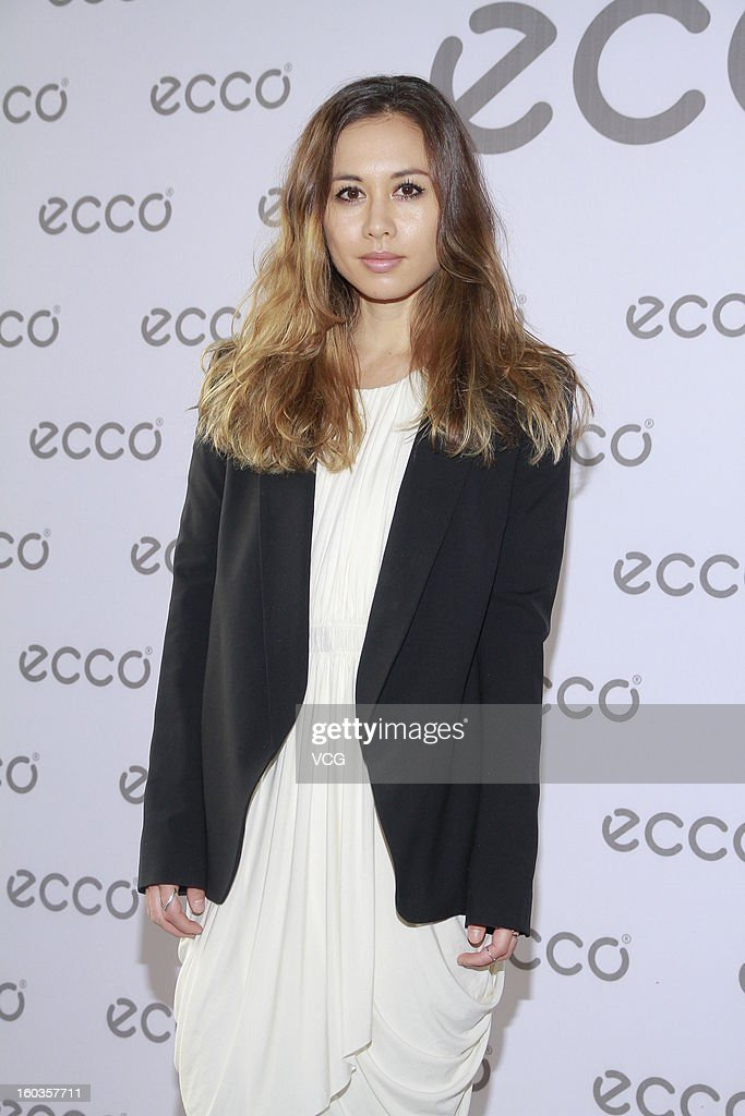 Fashion blogger Rumi Neely attends ECCO promotional event at Madam Sixty Ate on January 29, 2013 in Hong Kong, Hong Kong.
