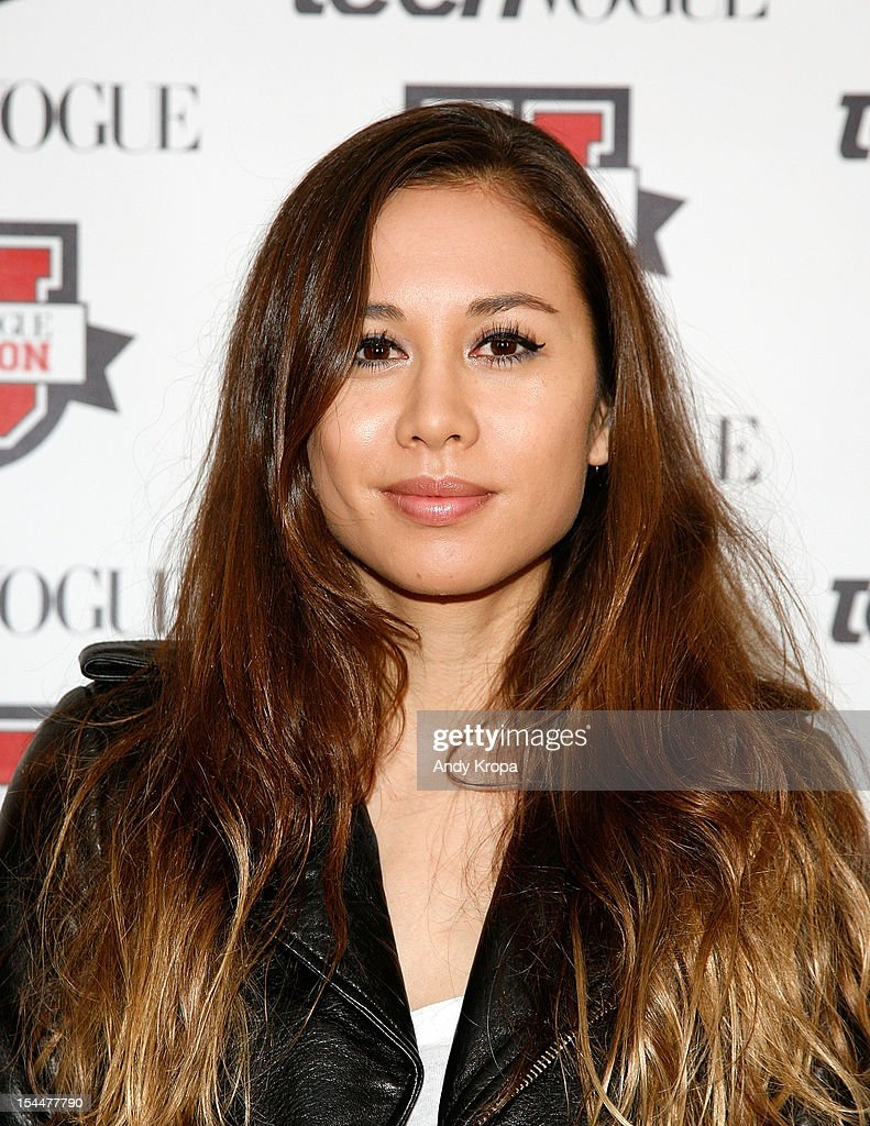Fashion blogger Rumi Neely attends the 7th Annual Teen Vogue Fashion University at the Conde Nast building on October 20, 2012 in New York City.