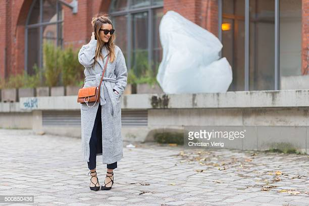 Fashion Blogger Sofia Grau on December 10 2015 in Berlin Germany