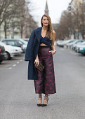 Fashion Blogger Sofia Grau on December 10 2015 in Berlin Germany
