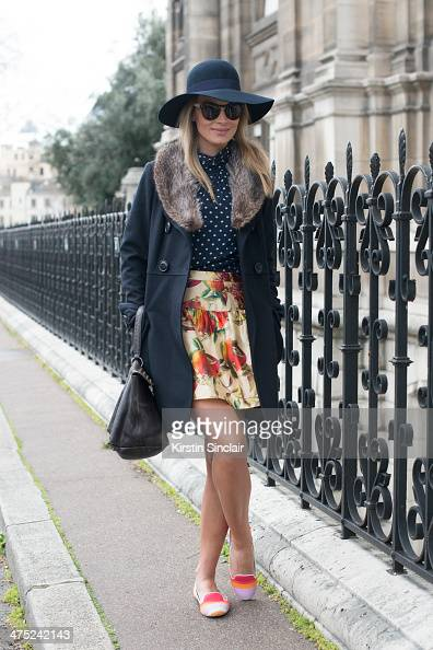 Fashion Branding Consultant Wilma Helena Faissol wears Illesteva sunglasses Vera Wang jacket Dolce and Gabbana skirt Charles Philip shoes Daslu top...