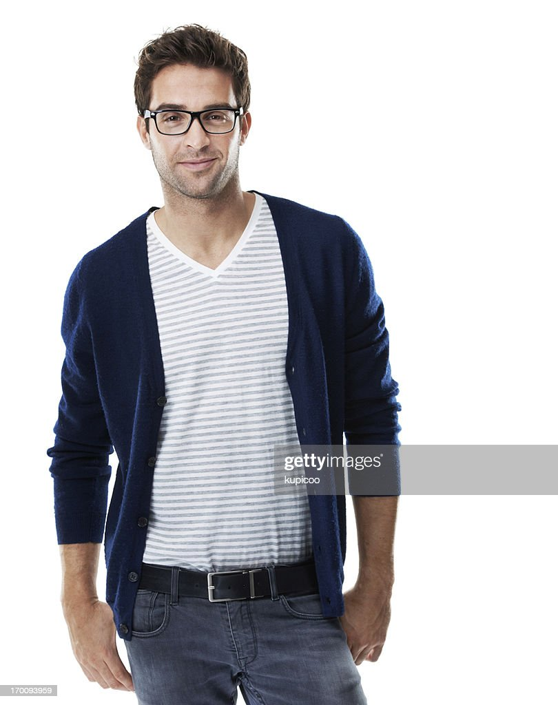 Fashion conscious and on the cusp of trends : Stock Photo