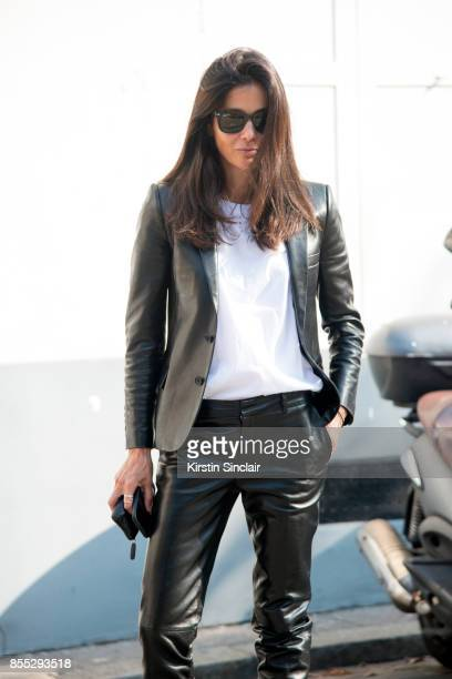 Fashion consultant Barbara Martelo day 1 of Paris Womens Fashion Week Spring/Summer 2018 on September 26 2017 in London England