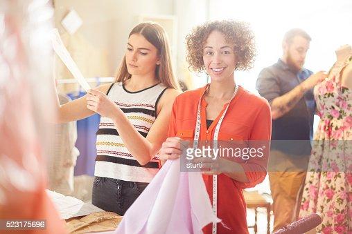 Fashion design business owner