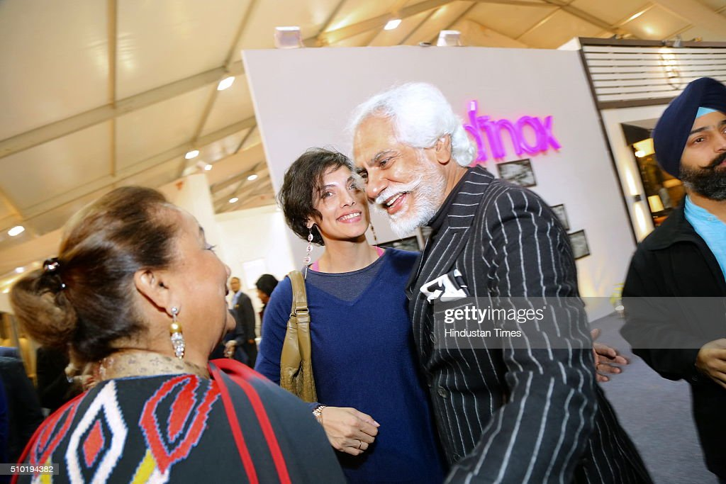 Fashion Design Council Of India (FDCI) president Sunil Sethi during the preview party of India Design ID 2016 on February 11, 2016 in New Delhi, India. India Design ID is the paramount platform for a new generation of designers. It witnesses the participation of top-notch global design brands, architects and interior designers.