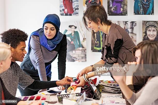 Fashion Design startup business meeting