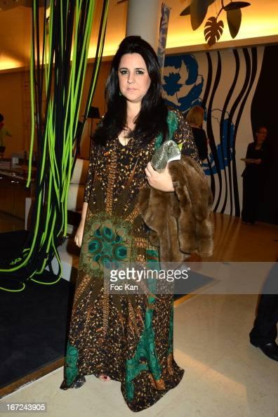 Fashion designer Adriana Degreas attends 'Le Bresil Rive Gauche' Exhibition At Le Bon Marche on April 22 2013 in Paris France