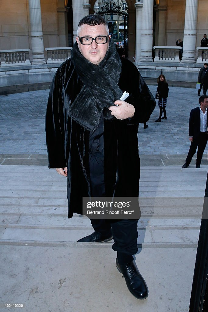 Fashion Designer <a gi-track='captionPersonalityLinkClicked' href=/galleries/search?phrase=Alber+Elbaz&family=editorial&specificpeople=783481 ng-click='$event.stopPropagation()'>Alber Elbaz</a> attends the Jeanne Lanvin Retrospective : Opening Ceremony at Palais Galliera on March 6, 2015 in Paris, France.