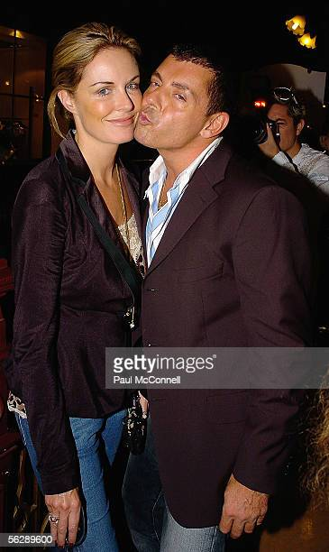 Fashion Designer Alex ZabottoBentley and friend attend the Jayson Brunsdon Store Opening November 29 2005 in Sydney Australia