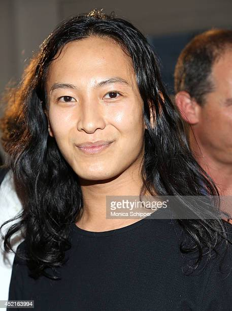 Fashion designer Alexander Wang attends 2014/2015 International Woolmark Prize USA Regional awards at Milk Studios on July 14 2014 in New York City