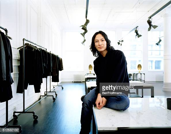 Fashion designer Alexander Wang is photographed for Vanity Fair Magazine on January 12 2010 in New York City