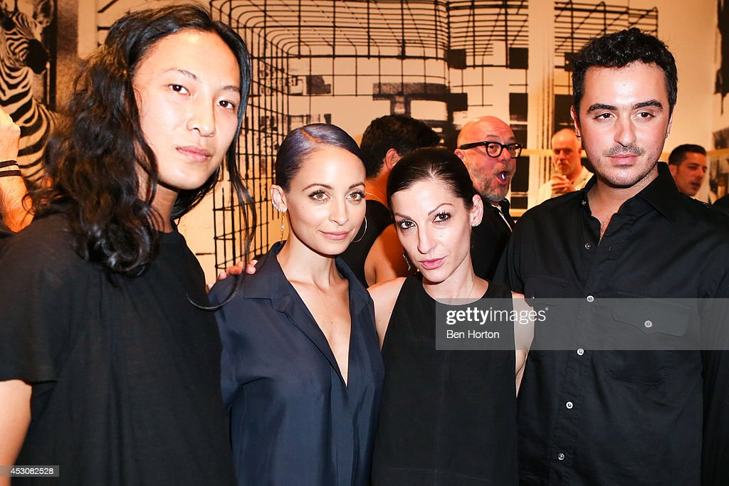 Fashion Designer Alexander Wang, TV personality <a gi-track='captionPersonalityLinkClicked' href=/galleries/search?phrase=Nicole+Richie&family=editorial&specificpeople=201646 ng-click='$event.stopPropagation()'>Nicole Richie</a>, stylist Nevena Borissova and interior designer Ryan Korban attend <a gi-track='captionPersonalityLinkClicked' href=/galleries/search?phrase=Nicole+Richie&family=editorial&specificpeople=201646 ng-click='$event.stopPropagation()'>Nicole Richie</a>, Eric Buterbaugh and Nevena Borissova host Ryan Korban's 'Luxury Redefined' on August 1, 2014 in Los Angeles, California.