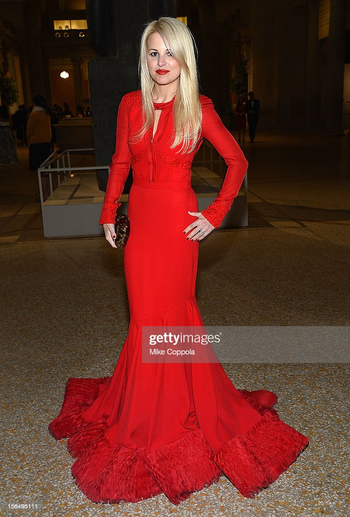 Fashion designer Alexandra Vidal attends the 2012 Apollo Circle Benefit at the Metropolitan Museum of Art on November 15, 2012 in New York City.
