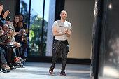 Fashion Designer Alexandre Vauthier walks the runway during the Alexandre Vauthier Prive Haute Couture Fall/Winter 20162017 show as part of Paris...