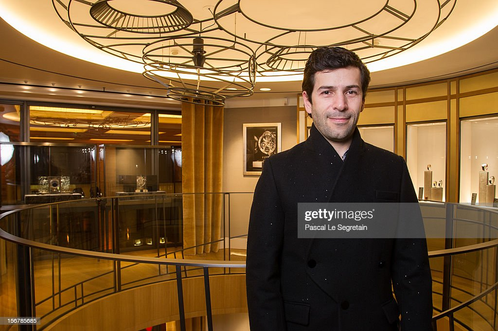 Fashion Designer Alexis Mabille attends Jaeger-LeCoultre Vendome Boutique Opening at Jaeger-LeCoultre Boutique on November 20, 2012 in Paris, France.