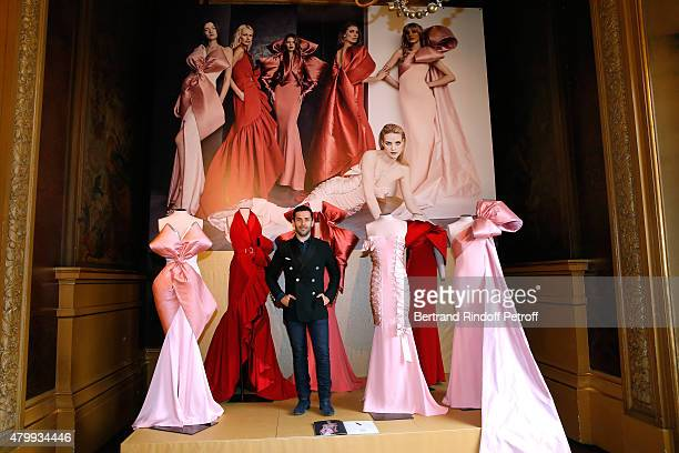 Fashion Designer Alexis Mabille presents his Haute Couture Fall/Winter 2015/2016 collection as part of Paris Fashion Week Haute Couture Fall/Winter...