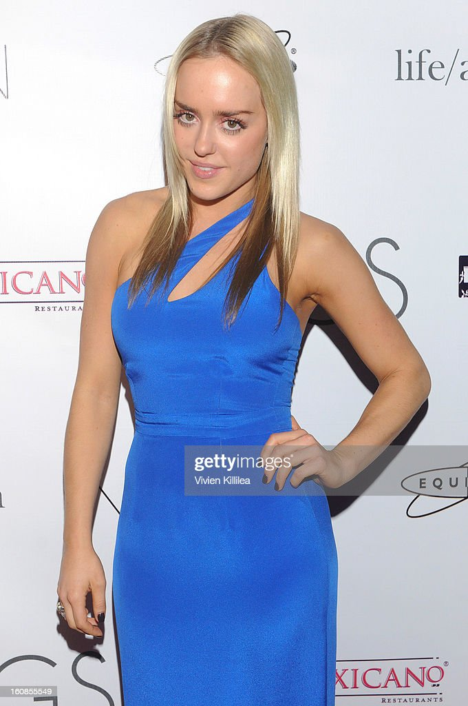 Fashion designer Alexis McClay attends TAGS Grand Opening Party on February 6, 2013 in West Hollywood, California.