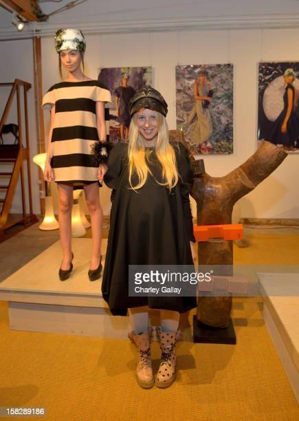 Fashion designer Aliona Kononova attends High Fashion/2013 MOE Aliona Kononova Collection brought to you by the allnew Lincoln MKZ hosted by Joel...