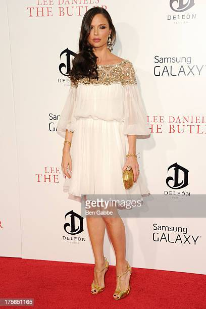 Fashion designer and actress Georgina Chapman attends Lee Daniels' 'The Butler' New York Premiere at Ziegfeld Theater on August 5 2013 in New York...