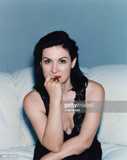Fashion designer and businesswoman Paloma Picasso is photographed in London England