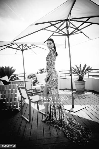Fashion designer and creative director of Balmain Olivier Rousteing is photographed in Cannes France on May 24 2017