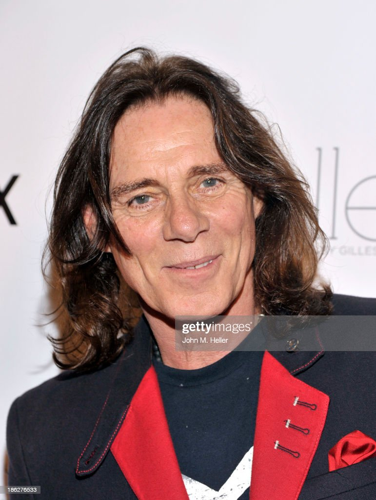 Fashion Designer and editor of Genlux Magazine George Bloodwell attends Genlux Magazine's Hosting of Photographer Gilles Bensimon's portraits at the Sofitel Hotel on October 29, 2013 in Los Angeles, California.