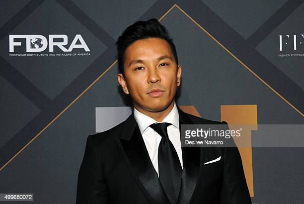Fashion designer and Icon Award for Social Impact Prabal Gurung attends the 29th FN Achievement Awards at IAC Headquarters on December 2 2015 in New...