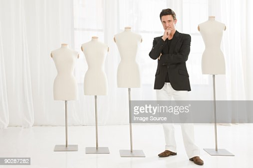Fashion designer and tailors dummies