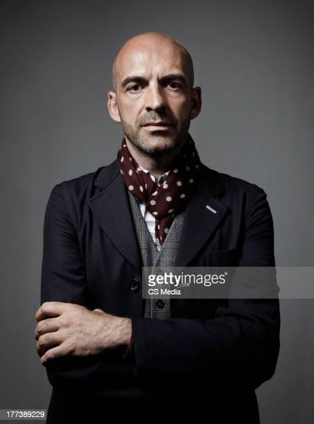 Fashion designer Antonio Marras is photographed on June 8 2010 in Milan Italy