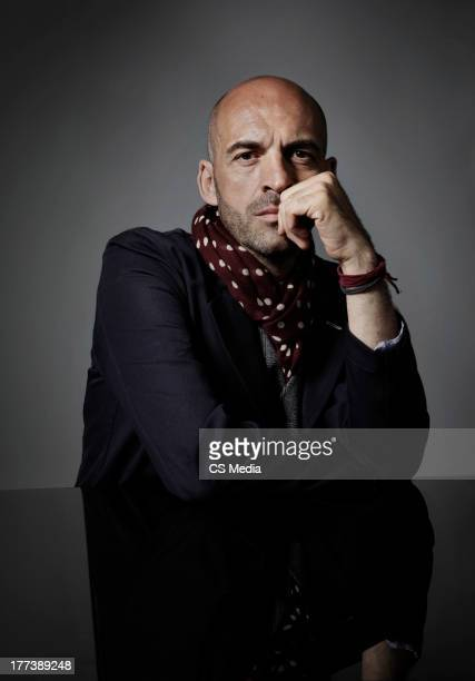 Fashion designer Antonio Marras is photographed on June 8 2010 in Milan Italy