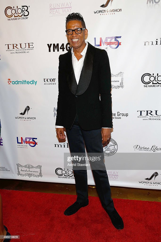 Fashion designer B. Michael attends the 2nd Annual Women & Fashion FilmFest Red Carpet Opening at Gold Bar on June 3, 2014 in New York City.