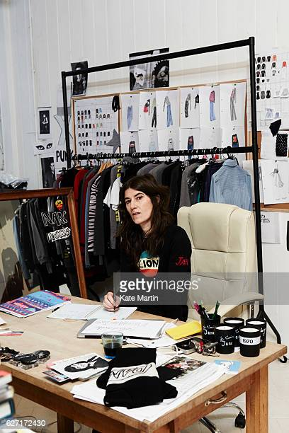 Fashion designer Bella Freud is photographed on November 26 2014 in London England