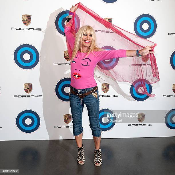 Fashion designer Betsey Johnson attends Fashion Targets Breast Cancer at The New Museum on August 20 2014 in New York City
