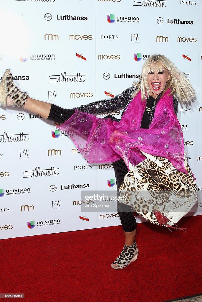 Fashion Designer Betsey Johnson attends the New York Moves Magazine's 10th Anniversary Power Women Gala at the Grand Hyatt New York on November 14, 2013 in New York City.