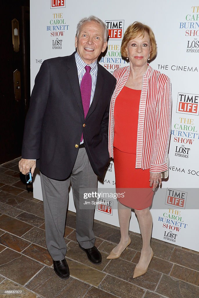 Fashion designer Bob Mackie and actress/comedian Carol Burnett attend 'The Carol Burnett Show: The Lost Episodes' screening hosted by Time Life and The Cinema Society at Tribeca Grand Hotel on September 17, 2015 in New York City.