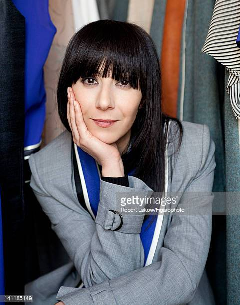 Fashion designer Bouchra Jarrar is photographed for Madame Figaro on February 3 2012 in Paris France COVER IMAGE Figaro ID 103222007 CREDIT MUST READ...
