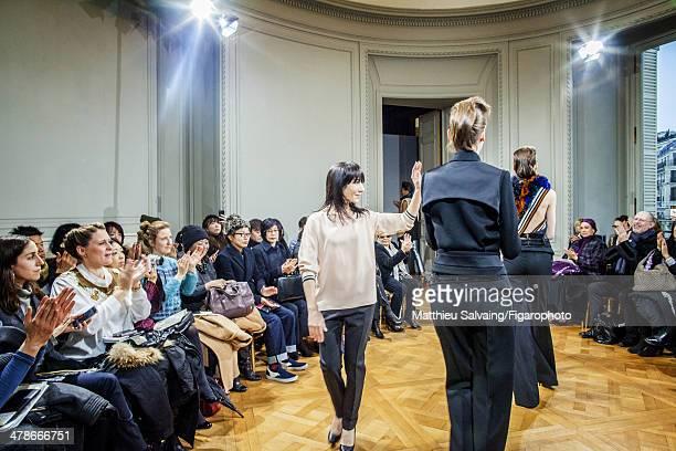 108876002 Fashion designer Bouchra Jarrar is photographed for Madame Figaro on January 21 2014 in Paris France Designer's 2014 Spring/Summer Haute...
