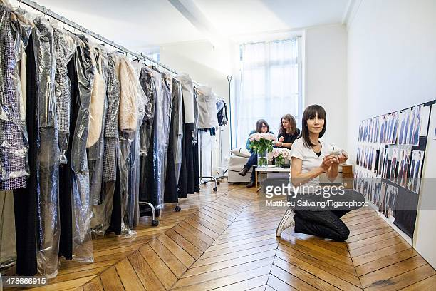 108876007 Fashion designer Bouchra Jarrar is photographed for Madame Figaro on January 19 2014 in Paris France PUBLISHED IMAGE CREDIT MUST READ...