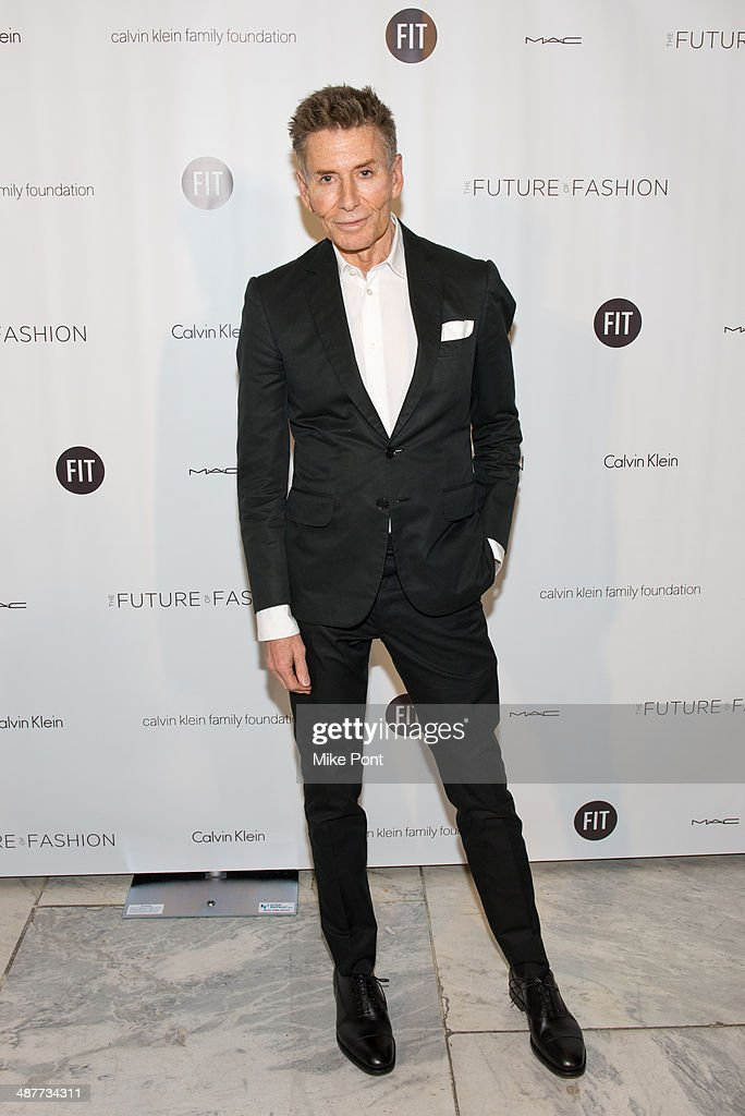 Fashion Designer Calvin Klein attends FIT's The Future Of Fashion Runway Show at The Fashion Institute of Technology on May 1, 2014 in New York City.