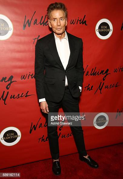Fashion designer Calvin Klein attends Pat Cleveland 'Walking With The Muses' Book Release Party at The Jane Hotel on June 9 2016 in New York City