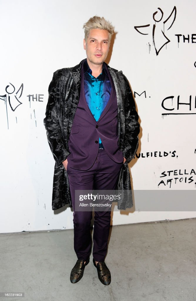 Fashion designer <a gi-track='captionPersonalityLinkClicked' href=/galleries/search?phrase=Cameron+Silver&family=editorial&specificpeople=546426 ng-click='$event.stopPropagation()'>Cameron Silver</a> attends The Art of Elysium's 6th annual Pieces of Heaven charity art auction presented by Ciroc Ultra Premium Vodka at Ace Museum on February 20, 2013 in Los Angeles, California.