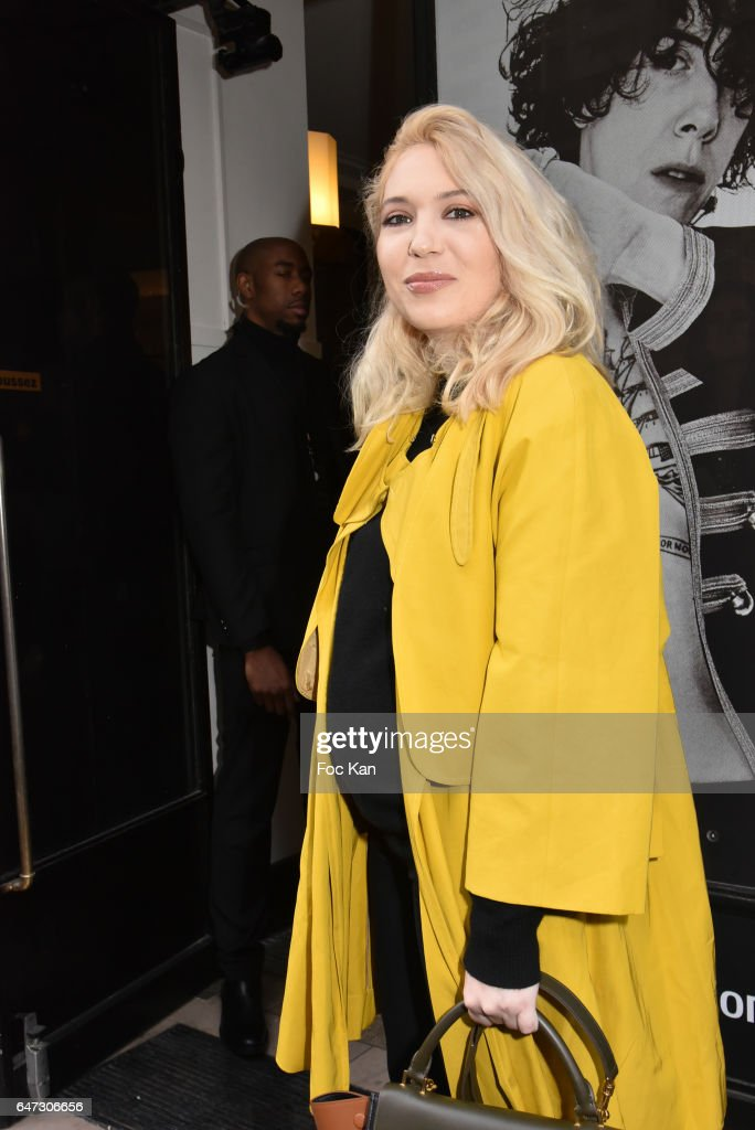 Fashion designer Camille Seydoux (sister of actress Lea Seydoux) attends the Alexis Mabille show as part of the Paris Fashion Week Womenswear Fall/Winter 2017/2018 on March 2, 2017 in Paris, France.
