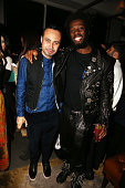 Fashion designer Carlos Campos and guest attend the Carlos Campos New York Fashion Week Men's Fall/Winter 2016 presentation after party at Mr Purple...