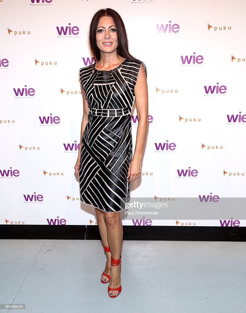 Fashion designer Catherine Malandrino attends the 4th Annual WIE Symposium at Center 548 on September 21, 2013 in New York City.