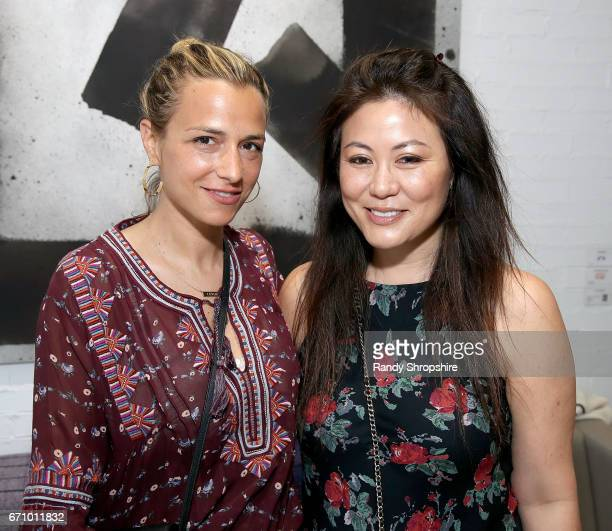 Fashion Designer Charlotte Ronson and Anita Ko attend Not So General Presents 'Transmutation' an inaugural show and the debut of new Terrazzo Work by...