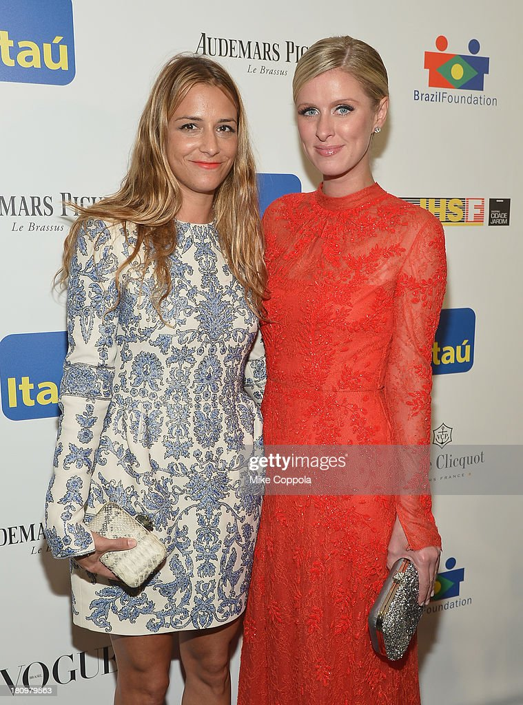 Fashion designer Charlotte Ronson (L) and Nicky Hilton attend the 11th BrazilFoundation NYC Gala at MOMA on September 18, 2013 in New York City.